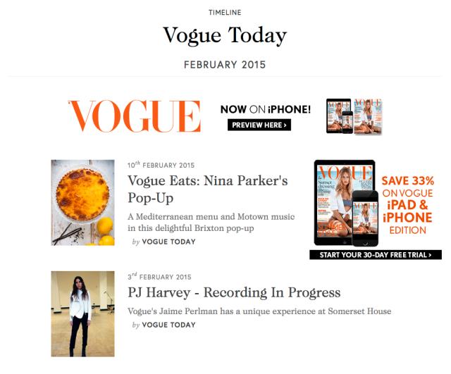 Vogue Blog