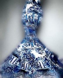 04 Evening Dress Roberto Cavalli Fall 2005
