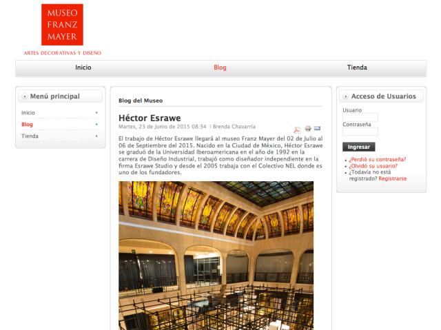 Blog Museo Franz Mayer