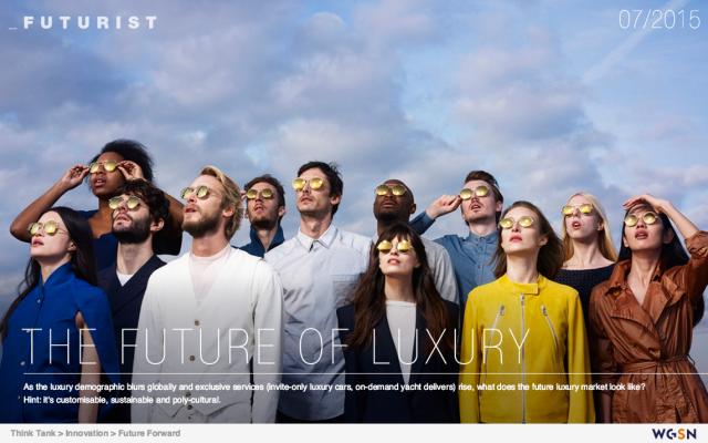 El futuro del lujo