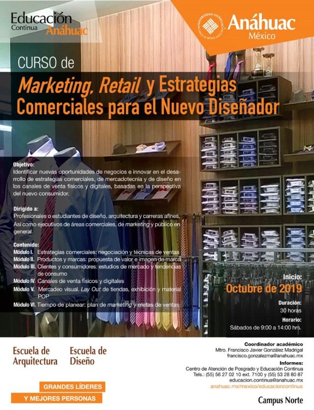 Flyer Curso Marketing Retail 1